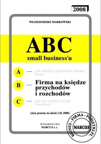 Okładka książki ABC - Firma na księdze przychodów i rozchodów - e-book