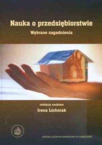 Okładka książki Nauka o przedsiębiorstwie. Wybrane zagadnienia