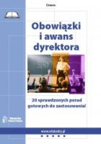 Okładka książki Obowiązki i awans dyrektora