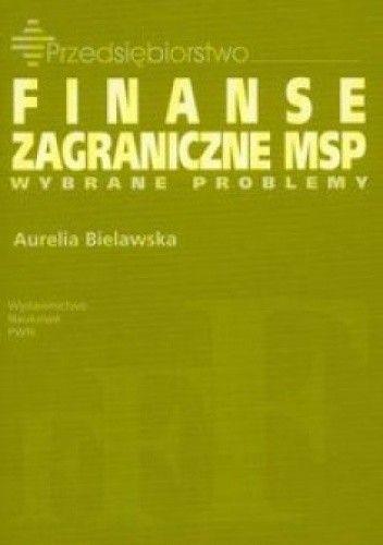 Okładka książki Finanse zagraniczne małych i średnich przedsiębiorstw
