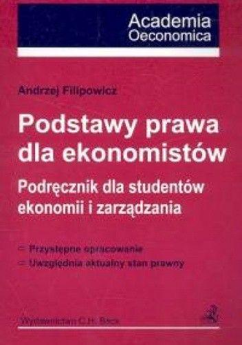 Okładka książki Podstawy prawa dla ekonomistów