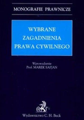 Okładka książki Wybrane zagadnienia prawa cywilnego