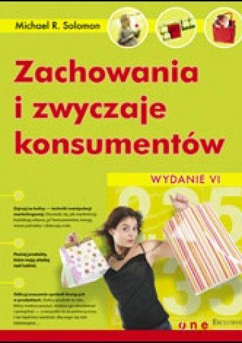 Okładka książki zachowania i zwyczaje konsumentów. Wydanie VI