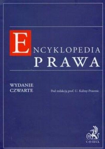 Okładka książki Encyklopedia prawa