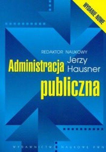 Okładka książki Administracja publiczna