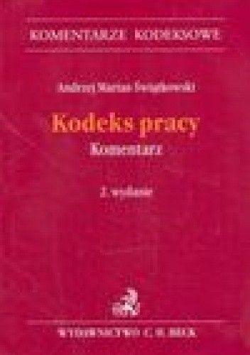 Okładka książki Kodeks pracy. Komentarz