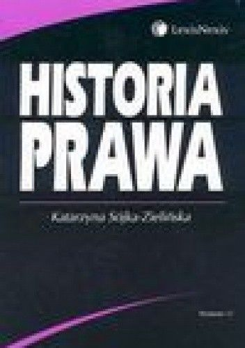 Okładka książki Historia prawa