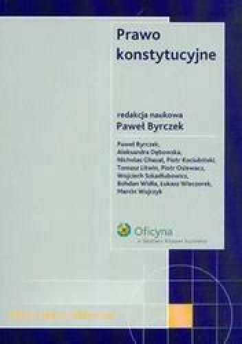 Okładka książki Prawo konstytucyjne Testy dla stududentów