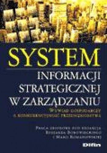 Okładka książki System informacji strategicznej