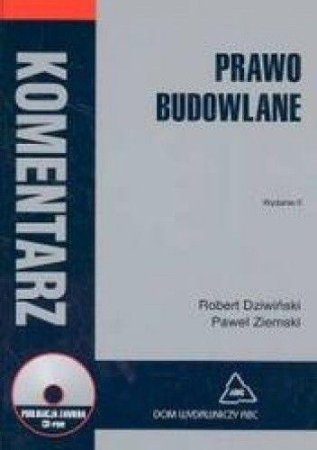 Okładka książki Prawo budowlane Komentarz + CD/gratis/