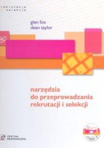 Okładka książki Narzędzia do przeprowadzania rekrutacji i selekcji /książka