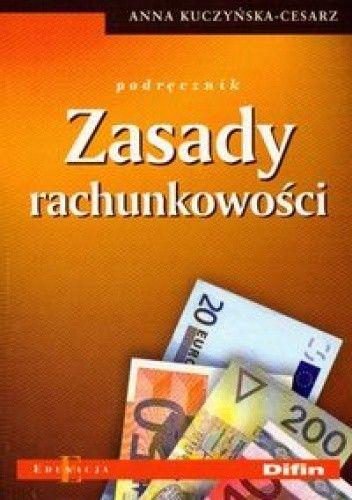 Okładka książki Zasady rachunkowości. Podręcznik