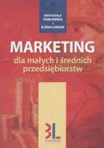Okładka książki Marketing dla małych i średnich przedsiębiorstw