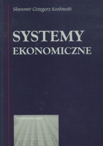 Okładka książki Systemy ekonomiczne