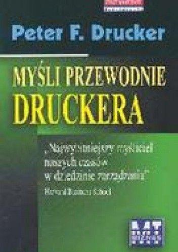 Okładka książki Myśli przewodnie Druckera