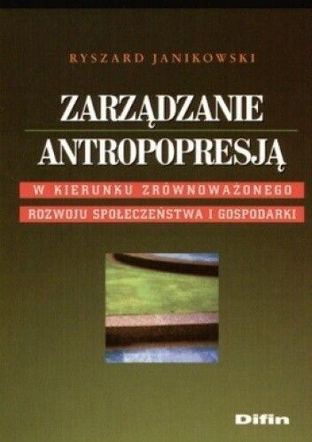 Okładka książki Zarządzanie antropopresją