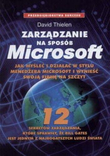 Okładka książki Zarządzanie na sposób Microsoft