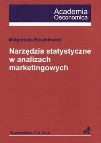 Okładka książki Narzędzia statystyczne w analizach marketingowych