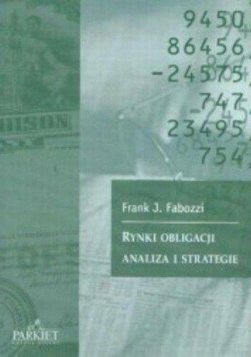 Okładka książki Rynki obligacji analiza i strategie