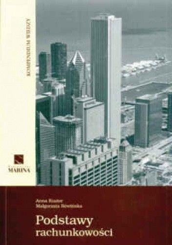 Okładka książki Podstawy rachunkowości