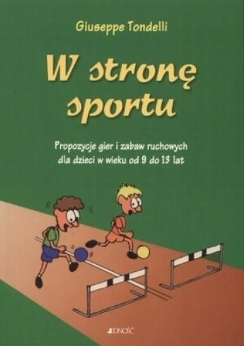 Okładka książki W stronę sportu