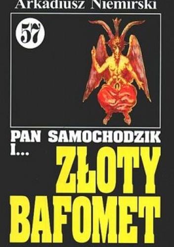 Okładka książki Pan Samochodzik i złoty Bafomet