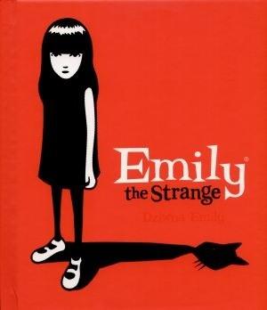 Okładka książki Emily the Strange. Dziwna Emily