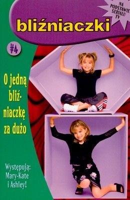 Okładka książki O jedną bliźniaczkę za dużo