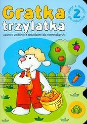 Okładka książki Gratka trzylatka cęść 2 /Ciekawe zadania z naklejkami dla najmłodszych