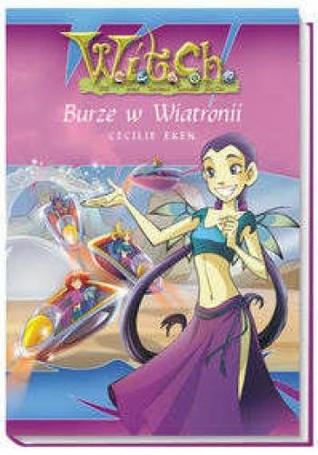 Okładka książki Burze w Wiatronii