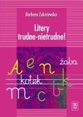 Okładka książki Litery trudne - nietrudne!