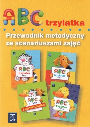 Okładka książki Abc trzylatka-przewodnik metodyczny ze scenariuszami