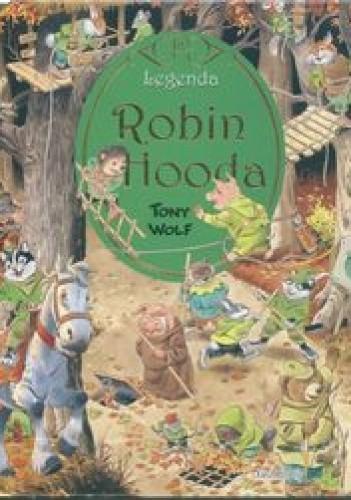 Okładka książki Legenda Robin Hooda