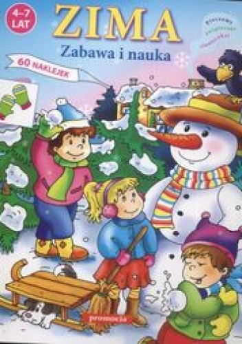 Okładka książki Zima - zabawa i nauka