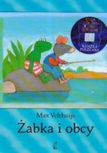 Okładka książki Żabka i obcy