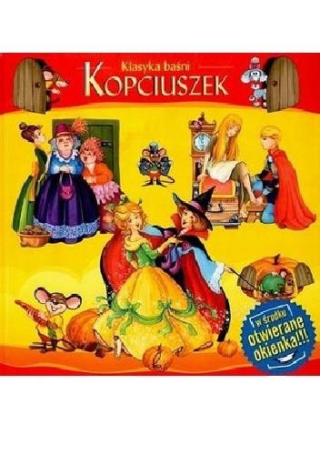 Okładka książki Kopciuszek-otwierane okienka