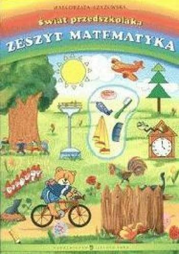 Okładka książki świat przedszkolaka zeszyt Matematyka