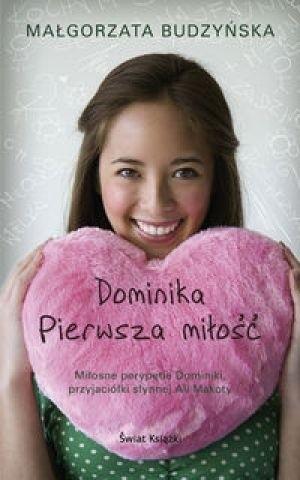 Okładka książki Dominika pierwsza miłość