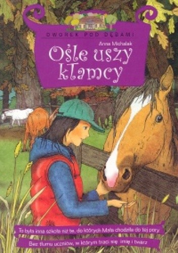 Okładka książki Ośle uszy kłamcy
