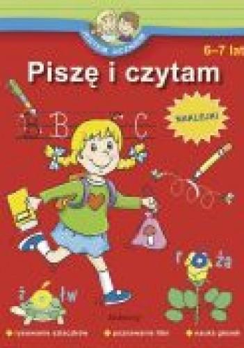Okładka książki Jestem uczniem-piszę i czytam 6-7 lat