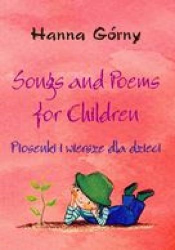 Okładka książki Songs and poems for children-piosenki i wiersze dla dzieci