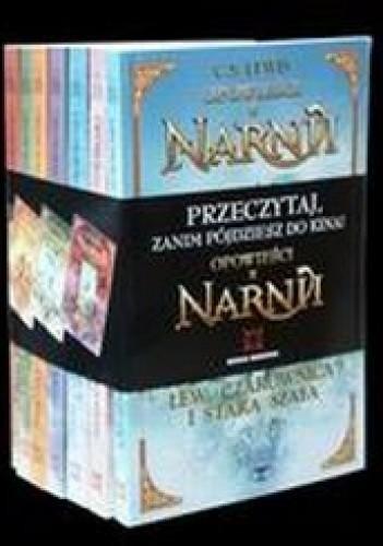 Okładka książki Opowieści z Narnii tomy 1-7