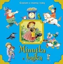Okładka książki Minutka z bajką