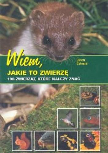 Okładka książki Wiem jakie to zwierze