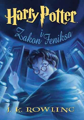 Okładka książki Harry Potter i Zakon Feniksa
