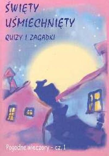 Okładka książki święty uśmiechnięty Quizy i zagadki
