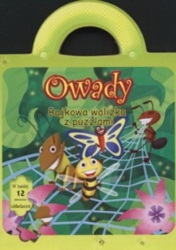 Okładka książki Owady/Bajkowa walizka z puzzlami/