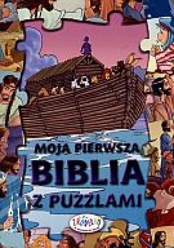 Okładka książki Moja pierwsza Biblia z puzzlami