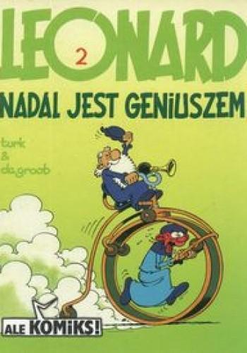 Okładka książki Leonard nadal jest geniuszem 2