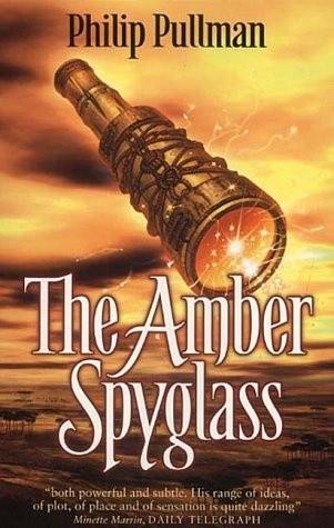 Okładka książki The Amber Spyglass
